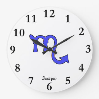 !Scorpio t Wallclocks