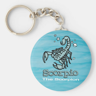 Scorpio The Scorpio astrological sign keychain