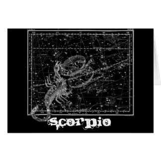 Scorpio, the Scorpion Card