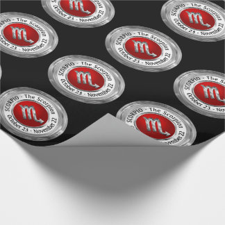Scorpio - The Scorpion Zodiac Sign Wrapping Paper