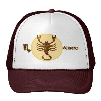 Scorpio Topaz Embroidered Modern Trucker Hat