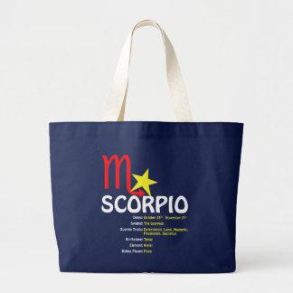 Scorpio Traits Dark Tote