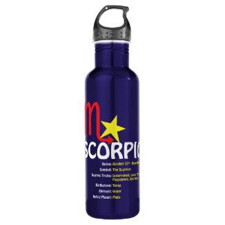 Scorpio Traits Water Bottle