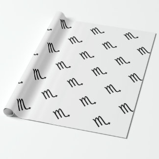 Scorpio Wrapping Paper