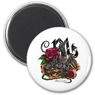 Scorpio - Zodiac 2 Inch Round Magnet