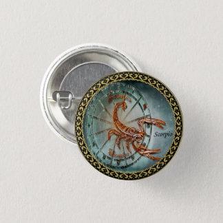 Scorpio Zodiac Astrology design 1 Inch Round Button