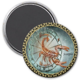 Scorpio Zodiac Astrology design Magnet