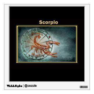 Scorpio  Zodiac Astrology design Wall Sticker