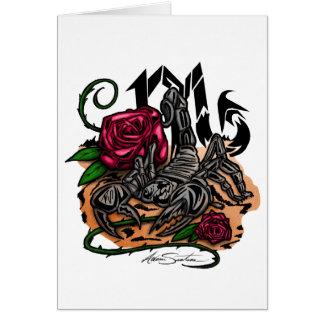 Scorpio - Zodiac Card
