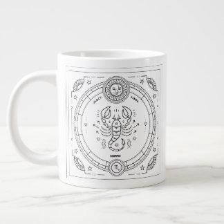 Scorpio Zodiac Custom Birthday Mug