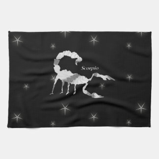 Scorpio  Zodiac Design Kitchen Towel