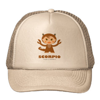 Scorpio Zodiac for Kids Trucker Hat