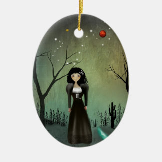 Scorpio - Zodiac Girls - Ornament