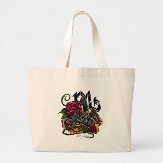 Scorpio - Zodiac Large Tote Bag