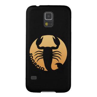 Scorpio Zodiac Sign Galaxy S5 Case