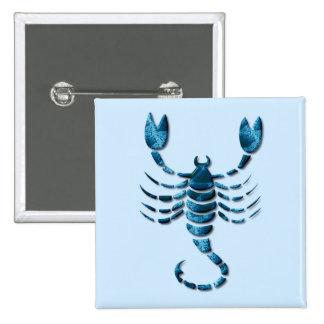 Scorpio Zodiac Square Pin
