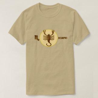 Scorpio Zodiac Topaz color Designer T-Shirt