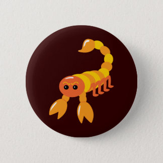 Scorpion 2 Inch Round Button