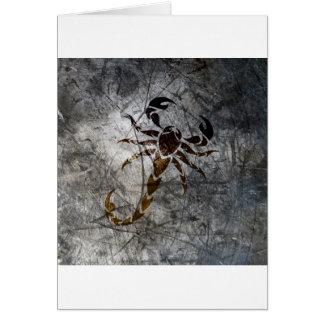 Scorpion Card