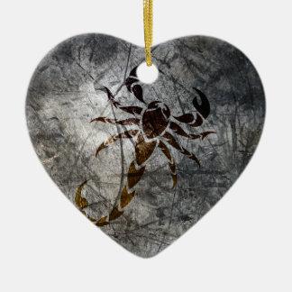 Scorpion Ceramic Ornament