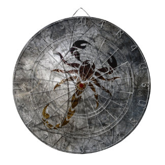 Scorpion Dartboard With Darts