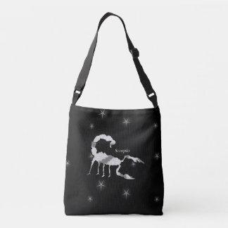 Scorpion  Design Black Crossbody Bag