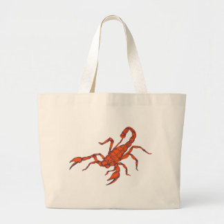 Scorpion ~ Insect Scorpio Scorpions Large Tote Bag