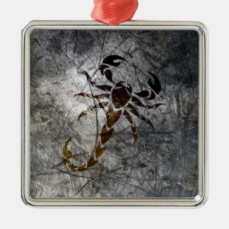 Scorpion Metal Ornament