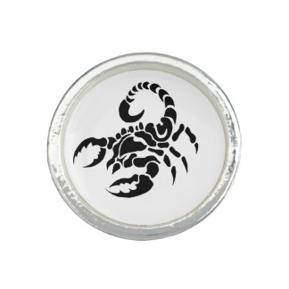 """Scorpion"" Rings"