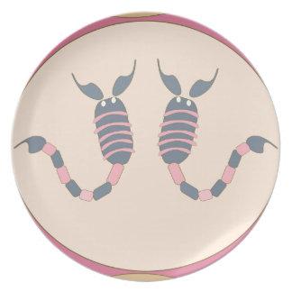 scorpion plate