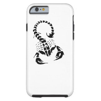 Scorpion Scorpio zodiac horoscope tribal tattoo Tough iPhone 6 Case