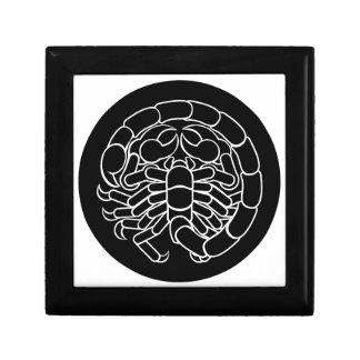 Scorpion Scorpio Zodiac Sign Gift Box