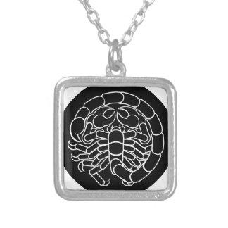 Scorpion Scorpio Zodiac Sign Silver Plated Necklace