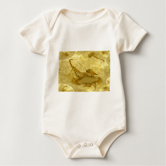 Scorpion Tails Abstract Baby Bodysuit