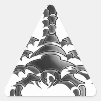 Scorpion Triangle Sticker