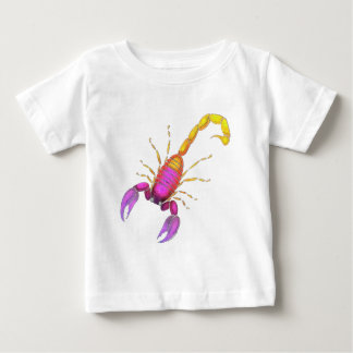 Scorpion Watercolor Baby T-Shirt