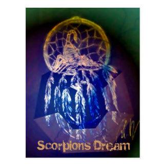 Scorpions Dream Postcard