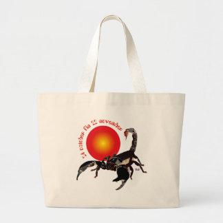 Scorpiun 24 more october fin 22 November bag