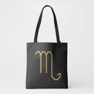 Scorpius Zodiac Sign Basic Tote Bag