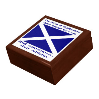 Scot Highlander Blood & Whisky Gift Box