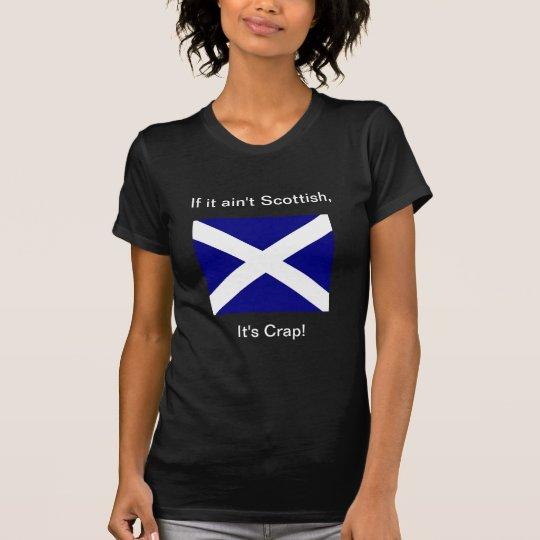 Scot or crap woman's dark T T-Shirt