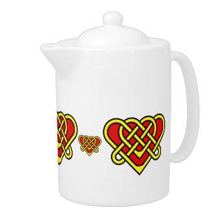 Scotalnd Celtic/Gaidhlig brided heart design