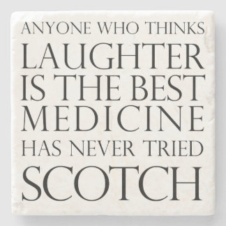 Scotch Laughter Marble Coaster Stone Coaster