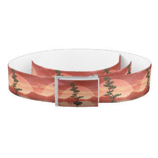 Scotch pine bonsai tree - 3D render Belt