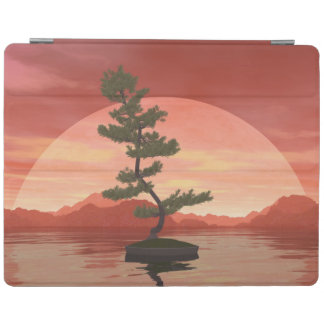 Scotch pine bonsai tree - 3D render iPad Cover