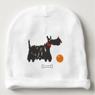 Scotch terrier baby beanie