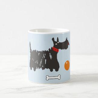 Scotch terrier. coffee mug