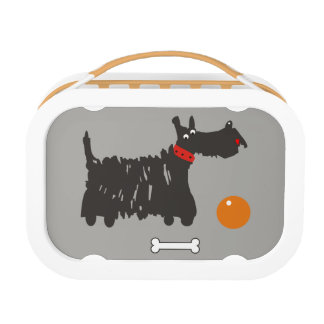 Scotch terrier. lunch box
