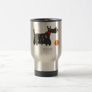 Scotch terrier travel mug
