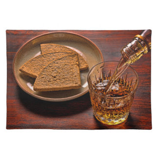 Scotch Whisky and Oatcakes Placemat